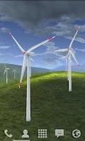 Screenshot of Wind Turbines 3D Free