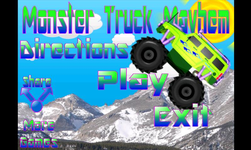 Monster Truck Mayhem - screenshot