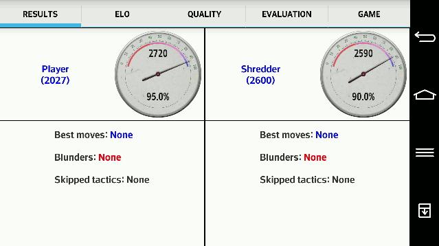 Analyze your games - screenshot