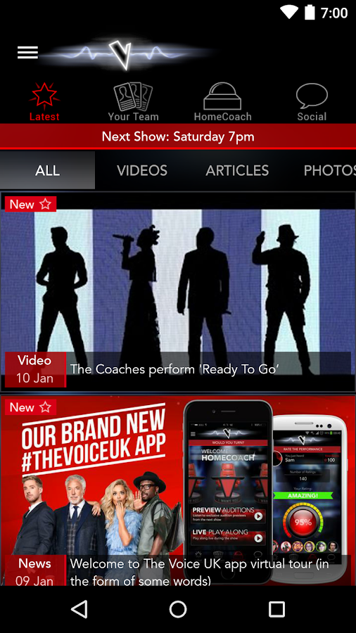The Voice UK - screenshot