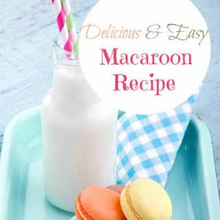Easy Macaroon Cookie.