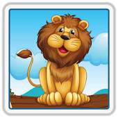 Kids Lion & Animals Scratch