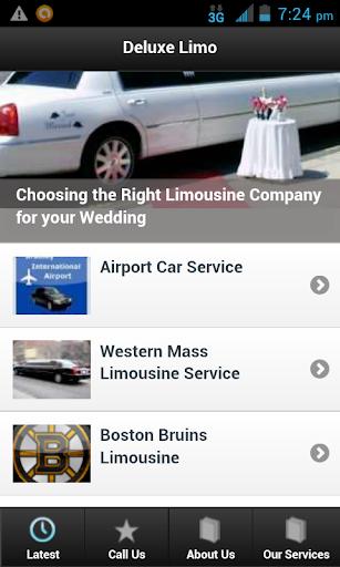 【免費交通運輸App】Deluxe Limo Service-APP點子