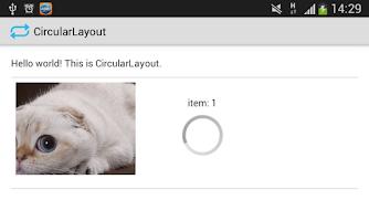 Screenshot of Circular Layout