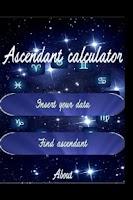Screenshot of Ascendant Calculator FREE