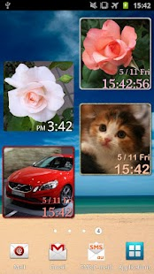 My Photo Clock (Widget)- screenshot thumbnail