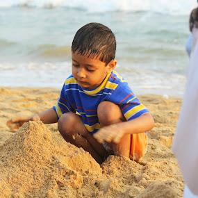 Start of Imagination  by Vaibhav Nahar - Babies & Children Children Candids