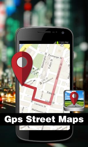 Gps street maps