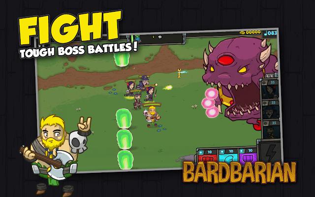 Bardbarian: Golden Axe Edition Screenshot Image