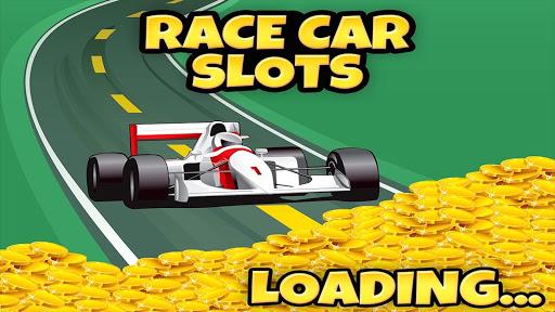 レースカーのカジノのスロット