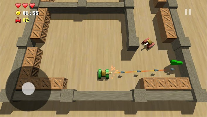 Tank Combat 2 - screenshot