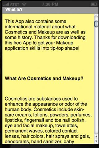 Applying Makeup - FREE! - screenshot