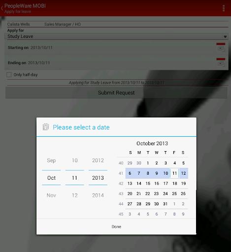 PeopleWare MOBI  screenshots 10