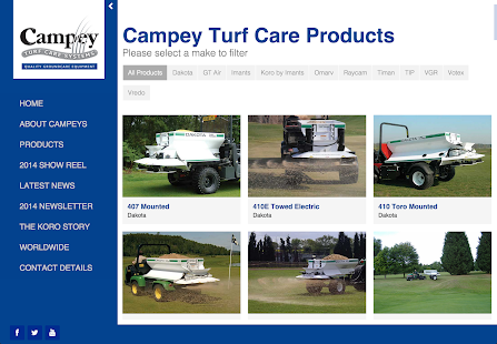 Campey Turf Care- screenshot thumbnail