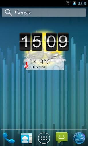一个简单的时钟与天气PRO