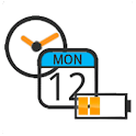 Battery Clock Calendar logo
