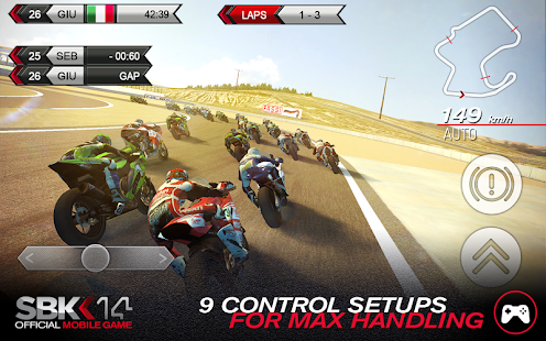SBK14 Official Mobile Game Screenshot 5