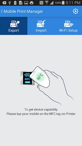 Samsung Mobile Print Manager screenshots 2