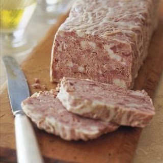 Pork Paté (Curing Salt) Recipe