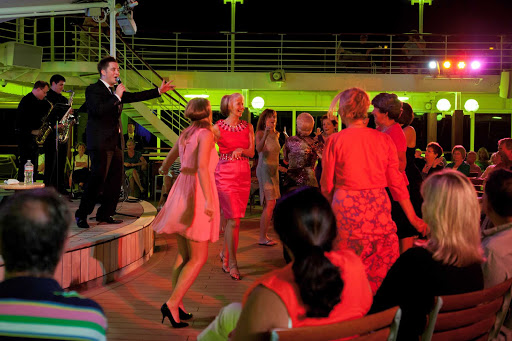 Azamara-Ship-Buble-Night-2 - On Buble night, you can enjoy jazzy music and swingin' dances when you sail with Azamara.