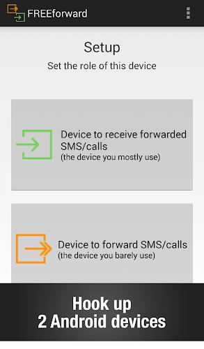 FREEforward: SMS forwarding