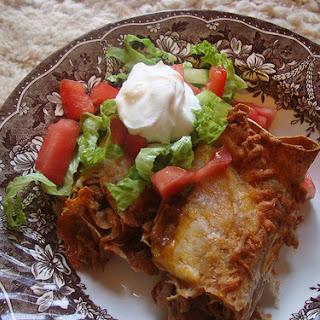 Smothered Colorado Enchiladas!