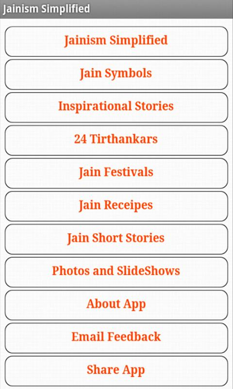 Jainism Simplified- screenshot