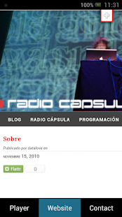 Radio Capsula - screenshot thumbnail