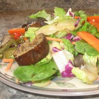 Emily's Famous Roasted Vegetable Salad.