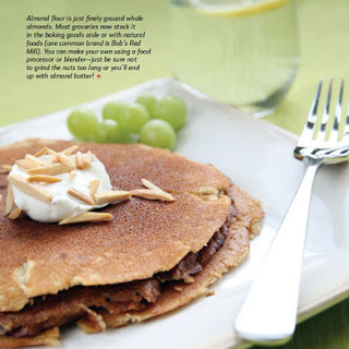 Hearty Cinnamon Almond Pancakes