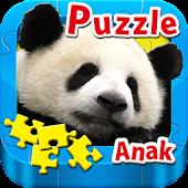Puzzle Anak - HEWAN -Indonesia