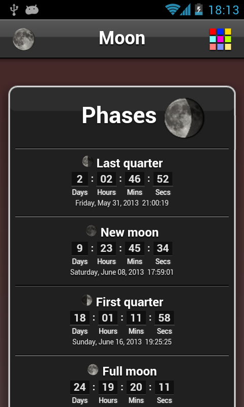 Moon Phase- screenshot