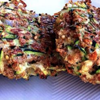 Zucchini Fritters with Avocado Dill Dip