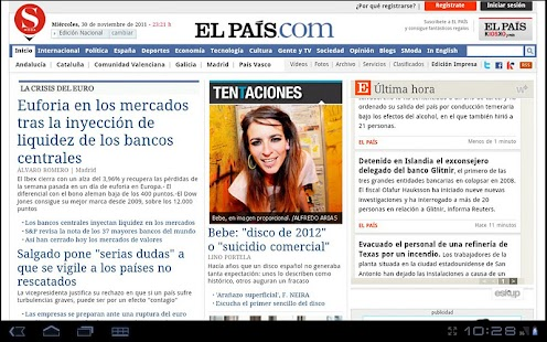 La Prensa (España) - screenshot thumbnail