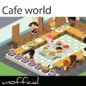 Cafe world videos and cheats logo