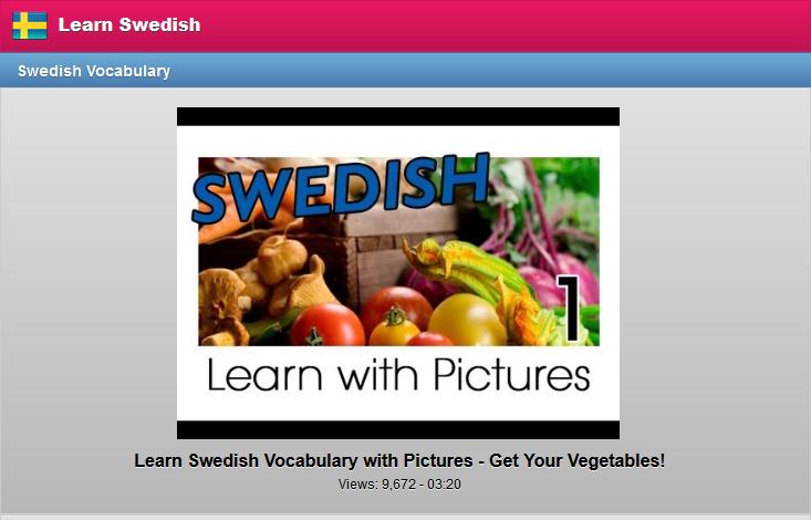 lära sig svenska app gratis