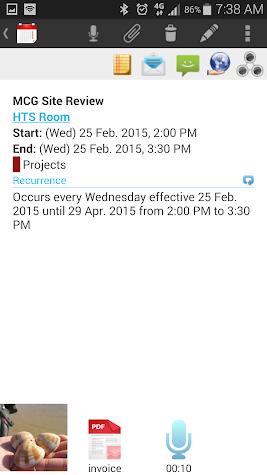 VCOrganizer Pro Screenshot