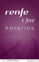 Screenshot of Horarios RENFE FEVE