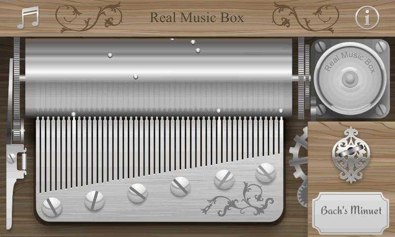 Real Music Box - screenshot