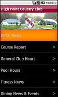 Screenshot of HPCC