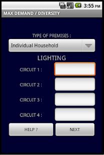 Maximum demand calculator apps on google play screenshot image keyboard keysfo Choice Image