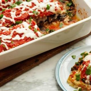 Kale and Portobello Lasagne Recipe