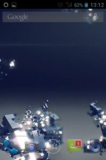 Cube 3D Live Wallpper