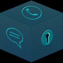 Secret Box - Dark Blue theme icon