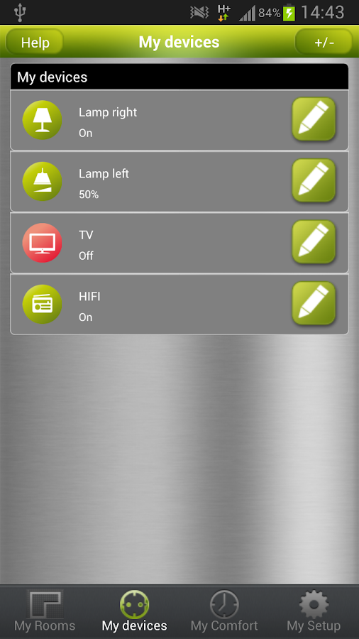 tapHOME Homeautomation- screenshot