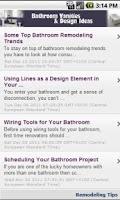 Screenshot of Bathroom Vanities & Design