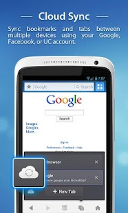 UC Browser - Navigateur - screenshot thumbnail