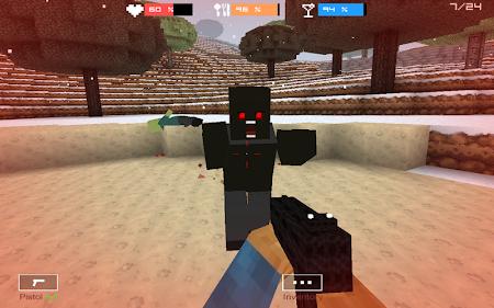Cube Gun 3D : Winter Craft 1.0 screenshot 44141
