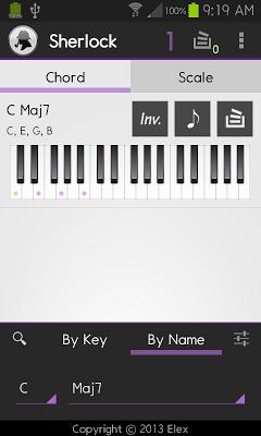 Chord / Scale Finder LE - screenshot