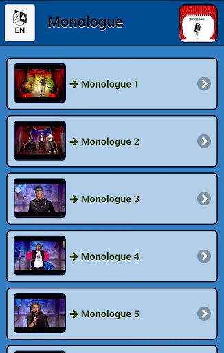 モノローグ
